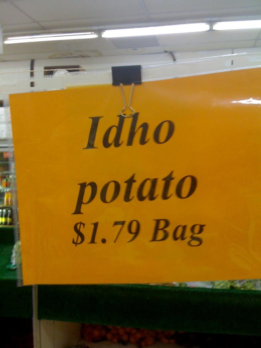 Where Potato?