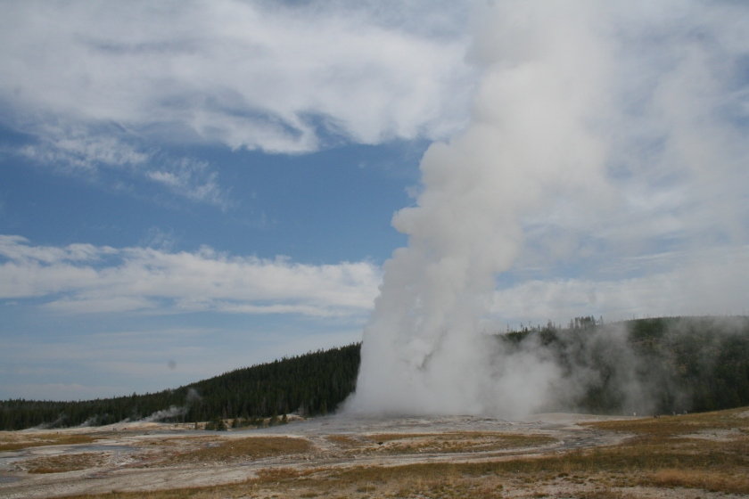 Old Faithful, Yellow Stone National Park